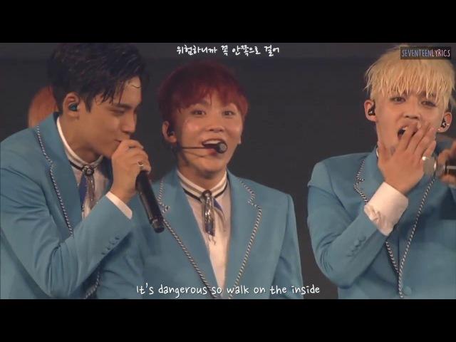 [ENG/HAN] SEVENTEEN - Adore U (아낀다)Mansae(만세)Very NICE(아주 NICE) [Shining Diamond DVD]