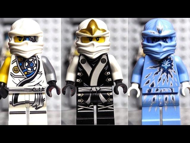НИНДЗЯГО Зейн все минифигурки LEGO Ninjago Movie Ледяной танк Обзор набора и коллекции