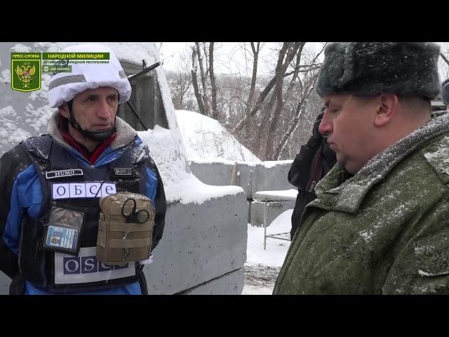 Украина в очередной раз сорвала разведение сил и средств на участке Станица Луганская