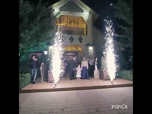 🔥Пиротехнический финал Дня рождения🔥💥💥💥 effect-show.com💥💥💥 г.Армавир Царская Охота