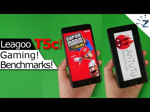 Обзор LEAGOO T5c в бенчмарках и играх (на английском языке)