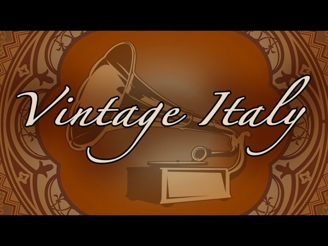 Various Artists - Vintage Italian Voices - the charming style of the 20's, 30's and 40's