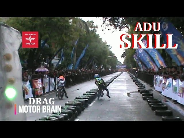 ADU SKILL DI LINTASAN 201 METER | VIDEO DRAG BIKE FIZR