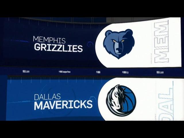 Memphis Grizzlies @ Dallas Mavericks - March 10, 2018 - Recap