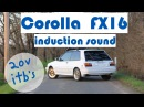 Corolla FX16 with 20v Swap fast on touge - 4AGE 20v itb