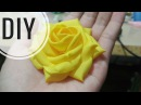 DIY Cara Membuat Mawar Cubit Asahi Tutorial Fabric Flower Rose