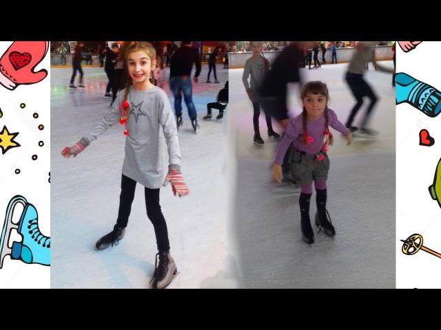 ВЛОГ: Як ZLATKA і HelloAnn вчаться кататись на Ковзанах ⛸️
