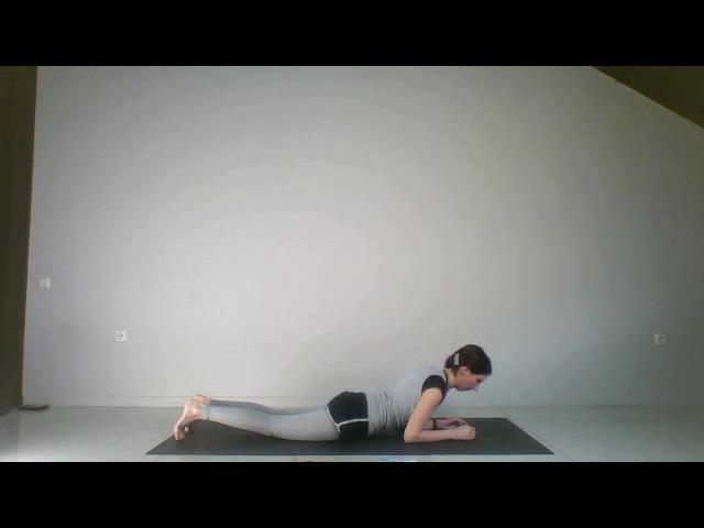 Йогатерапия | Урок 19 - Уменьшение поясничного гиперлордоза