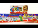 Раритетные Киндер Сюрпризы 16! Мадагаскар 2, Balenotti, Инопланетяне! TOYS Kinder Surprise unboxing