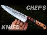 Knife Making Chef's Knife For Chanelle DIY
