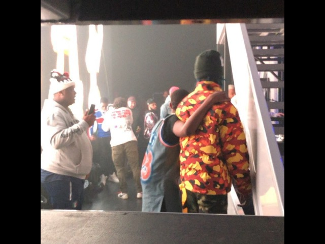 Совместное выступление A$AP Rocky и Famous Dex.