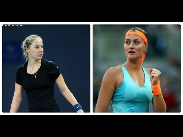 Anna BLINKOVA vs Kristina MLADENOVIC Qatar Total Open 2018 R2 Highlights HD