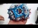 Como Hacer Lindo y hermoso Moño de Frozen how to make a frozen Tie