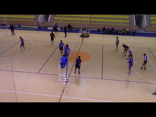 Чемпионат РК по волейболу 2016 финал 18ШК Сбербанк