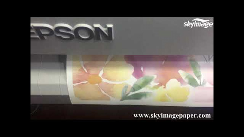 What about 90gsm fast dry sublimation printing result by Epson F6280?