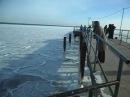 в евпатории замерзло море