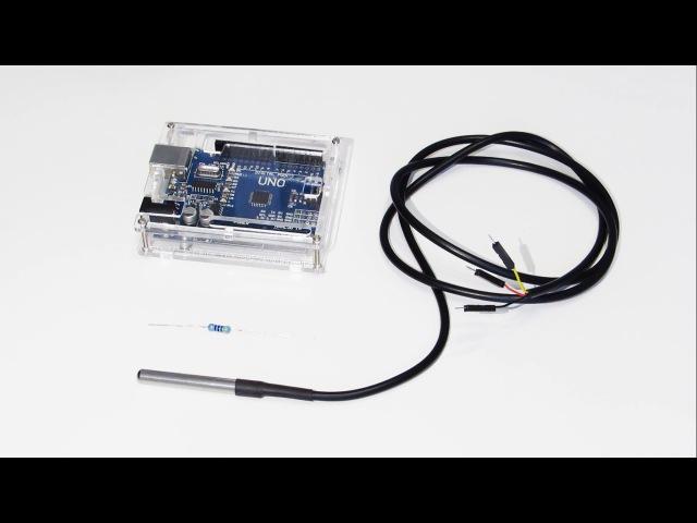 Датчик температуры DS18B20: Обзор, подключение к Arduino и пример скетча