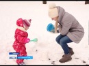Советск завалило снегом