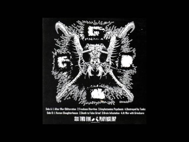 Insect Warfare - At War With Grindcore - 7