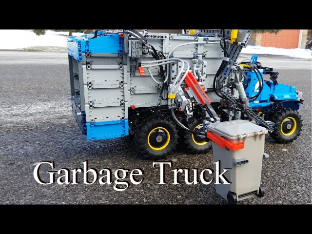 Garbage Truck - Lego Technic 42070 6x6 All Terrain Tow Truck