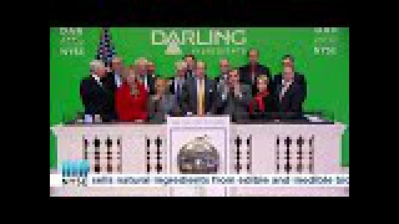 New York Stock Exchange - Darling Ingredients NYSE DAR rings the Closing Bellto