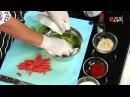 Салат из копчёного лосося