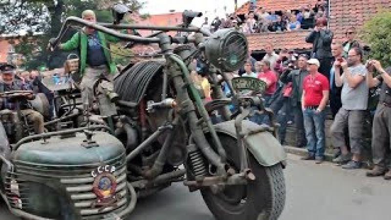😵Сумасшедшие Мотоциклы Самоделки 👏