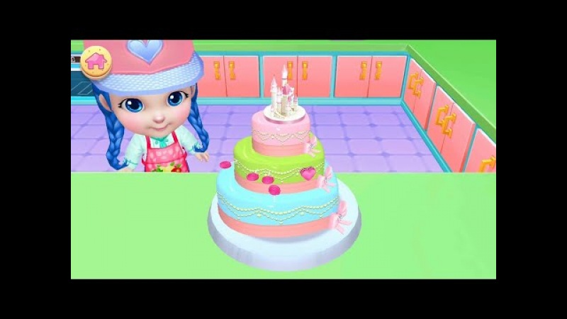 Fun Cooking Games for Kids to Play Real Cake Maker 3D Gameplay