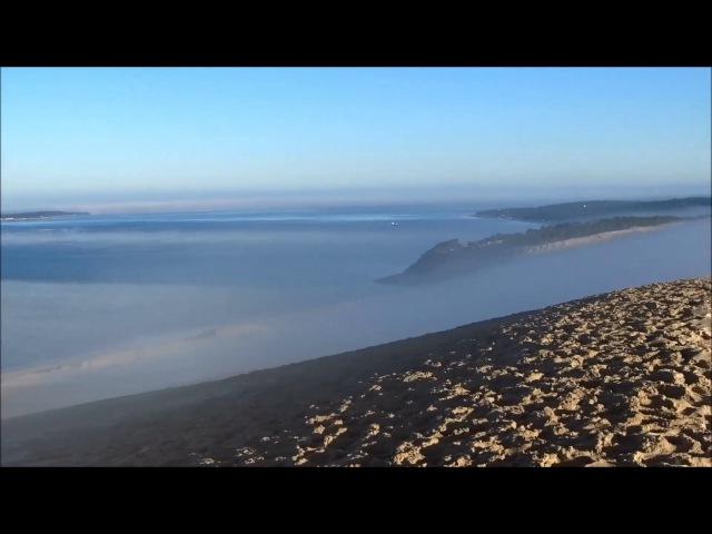 Dune du Pilat Incroyable spectre de Brocken au dessus des nuages