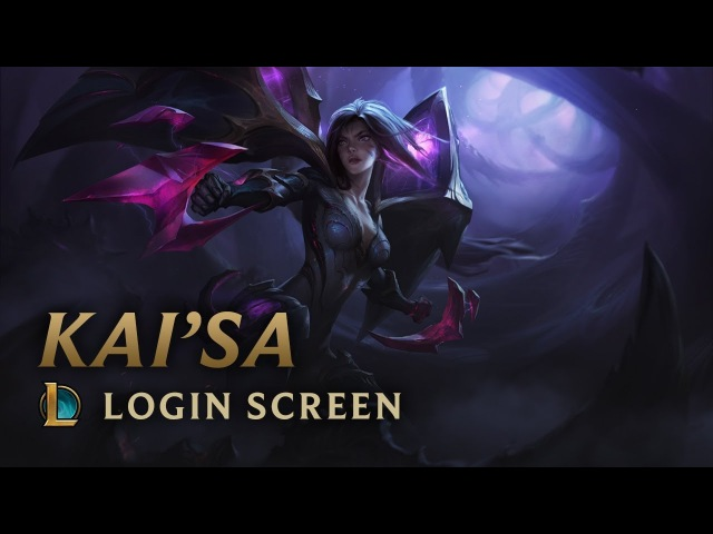 Kai'Sa, the Daughter of the Void | Login Screen - League of Legends