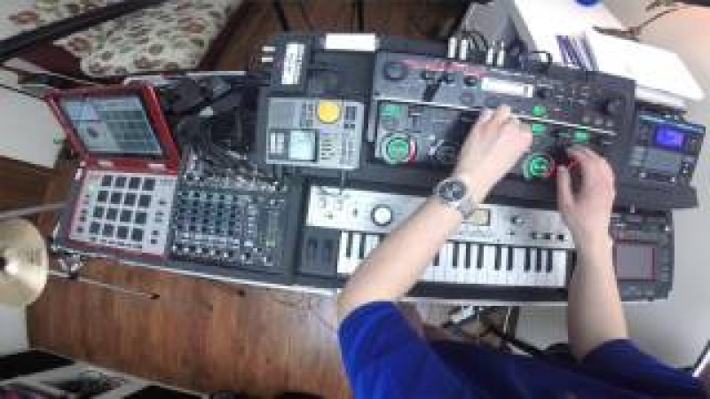 Nastya Maslova Live looping session Boss RC 505 promodj com