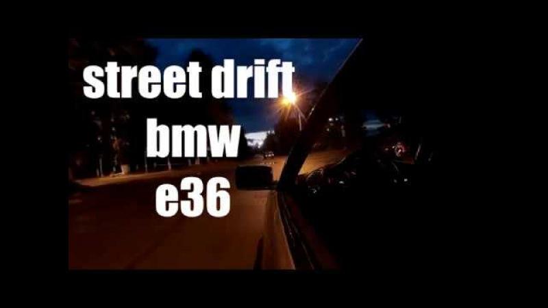 BMW E36 coupe ХуЛиГаН в городе...