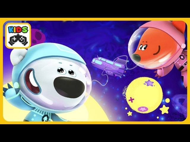 Ми-ми-мишки в космосе на корабле * Мимимишки на Планете Пиратов и Планете Гонок * мультик игра