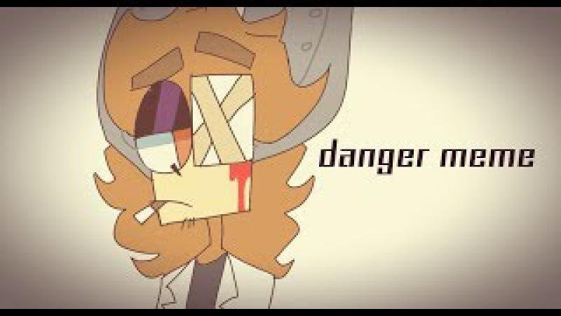 Danger meme FlipaClip gift for sleepykinq
