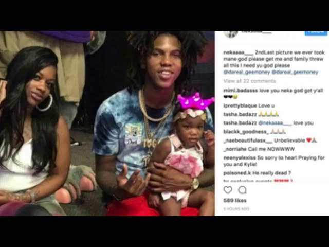 """Baton Rouge Rapper """" Gee Money """" Reportedly Shot While Leaving the Studio"""