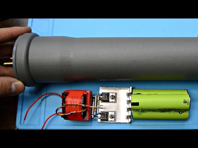 Видео ЭлектроШокер своими руками из старой техники ktrnhjijrth cdjbvb herfvb bp cnfhjq nt[ybrb
