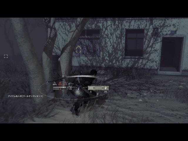 PS4版「METAL GEAR SURVIVE」シングルプレイ紹介ムービー:塵の海