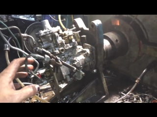 ТНВД Форд Транзит 2.5D замер давления плунжера после ремонта
