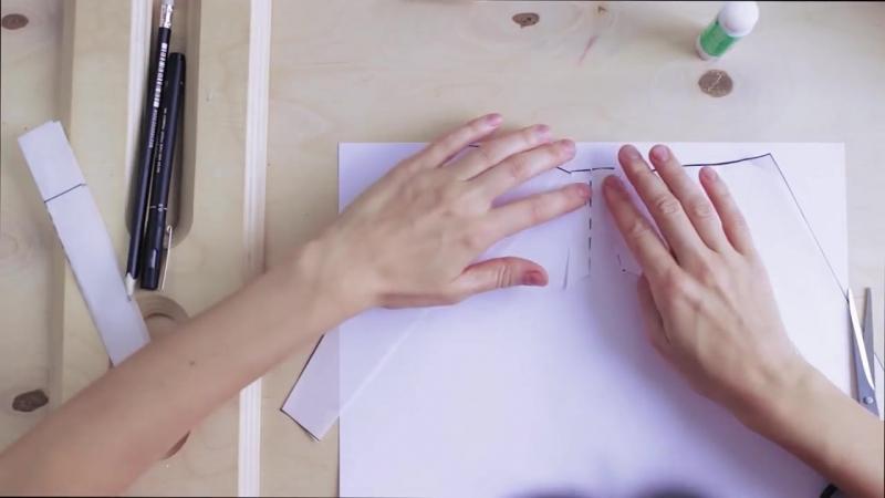 Рубашка с объемными рукавами _ ЦЕХ №5