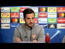 Sarabia Tenemos que dejar de lado la presión porque eso sólo te resta 02 04 18 Sevilla FC