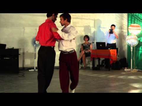 Yuri Panov Otar Bagaturiya St Petersburg Russia Queer Tango Festival 2014
