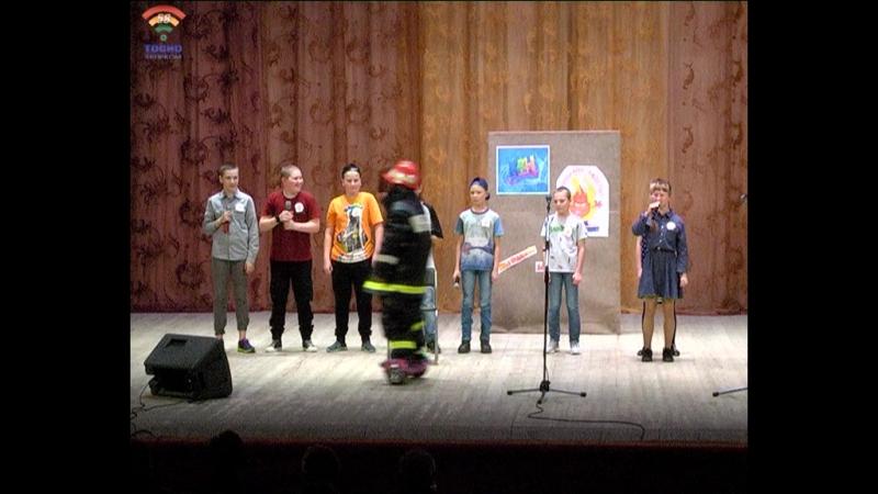 Турнир КВН по противопожарной тематике, среди школьников, прошёл 17 ноября в г.Тосно