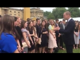 Celebrating @DofE successes The Duke of Cambridge presents Duke of Edinburghs Gold Awards to young people at Buckingham Palace.m