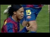 Супер гол Роналдиньо в ворота «Атлетико». Прошло 10 лет
