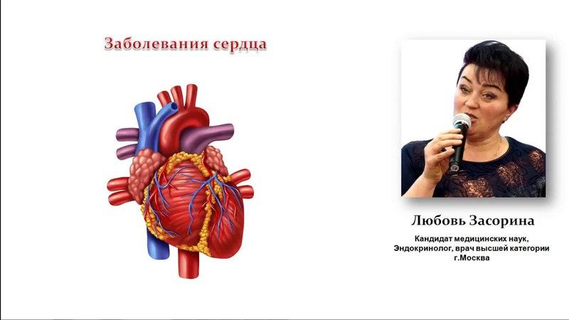 Заболевания сердца и давление врач Любовь Засорина Power Matrix