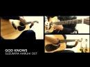 Suzumiya Haruhi no Yuutsu - God Knows Acoustic guitar cover