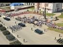 В одном строю! 9 мая на Красной площади у стелы «Город воинской славы» прошел па