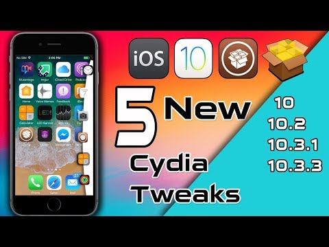 New iOS 10.X - 10.3.3 Cydia Tweaks 2018