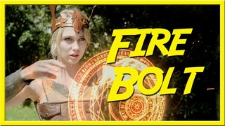 Fire Bolt - Epic NPC Man - VLDL (building up an epic spell)