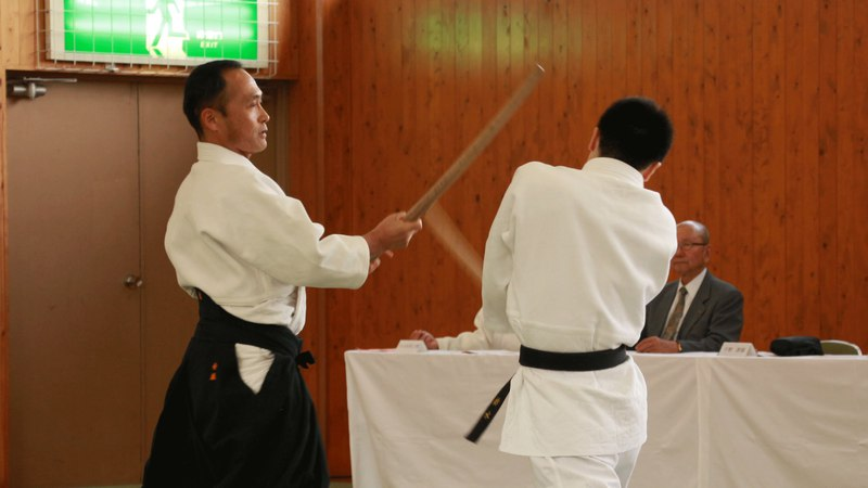 2014年10月12日 第27回 山梨県合気道演武大会 模範演武 養神館合気道龍122
